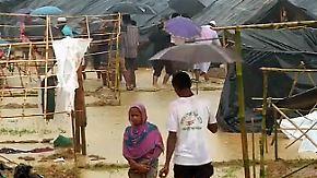 Behörden in Bangladesch überfordert: Fliehende Rohingya erwartet bitteres Elend