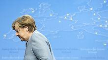 Begegnung in Tallinn: Merkel lobt vorsichtig Macrons Europa-Ideen