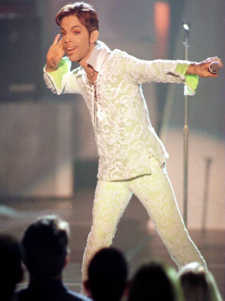 Bei einem Konzert in Los Angeles 1997.