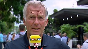 """Christian Danner zum Training in Malaysia: """"Die Formel 1 hatte Glück"""""""