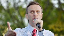 Oppositionsführer in Russland: Putin-Kritiker Nawalny erneut festgesetzt