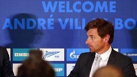 Zuletzt war Andre Villas-Boas in Europa für Zenit St. Petersburg tätig.
