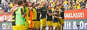 Die Siegesserie in der Liga hat weiter Bestand: Borussia Dortmund behauptet sich an der Tabellenspitze.