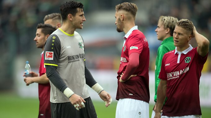 Frust aufgrund einer Niederlage - den haben die Hannoveraner lange nicht gespürt.