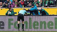 Eins vorweg: Schiedsrichter Christian Dingert hat in der Nachspielzeit alles richtig gemacht und die Review Zone genutzt.
