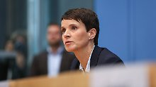 """Hexenjagd"" innerhalb der AfD: Petry skizziert ihre künftige Politik"