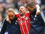 """""""Ich habe große Schmerzen. Mir geht es nicht so gut"""": Franck Ribéry."""