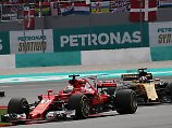 Sebastian Vettel kämpft sich durch - von Platz 20 auf 4.