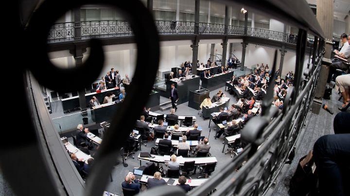Hier wollen alle hin: der niedersächsische Landtag in Hannover.