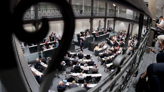 Blick auf den Landtag in Hannover.