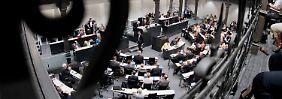 Hier wollen alle hin. Der niedersächsische Landtag in Hannover.