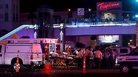 """Trump: """"Akt des puren Bösen"""": Angreifer erschießt Dutzende in Las Vegas"""