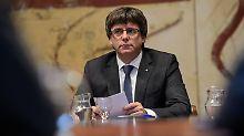 """""""Kein Kontakt nach Madrid"""": Katalonien will Vermittlung durch EU"""