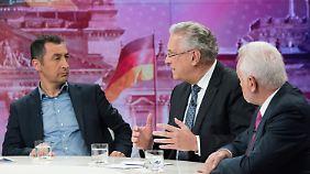 Özdemir und Herrmann sind als Minister in einer Jamaika-Koalition gesetzt. Wolfgang Kubicki (r.) könnte FDP-Fraktionschef werden.
