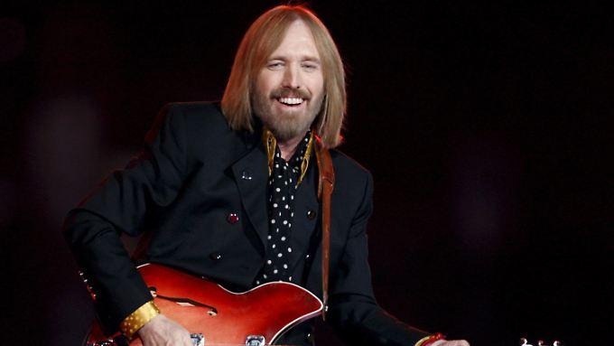 Plötzlicher Tod einer Musiklegende: Tom Petty stirbt mit 66 Jahren