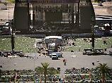 Mit mehreren Waffen schoss der Täter aus dem gegenüberliegenden Hotel auf das Festivalgelände.