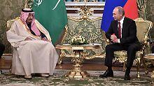 Hilfe bei Aufrüstung: Putin wirbt für Kooperation mit Saudi-Arabien