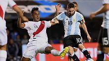Es wird ein Hauen und Stechen: Argentinien steht vor WM-Quali-Aus