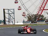 Trainingsbester vor Hamilton: Vettel legt im Poker von Suzuka vor