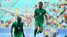 Qualifikation für die WM: Nigeria feiert, Portugal zittert