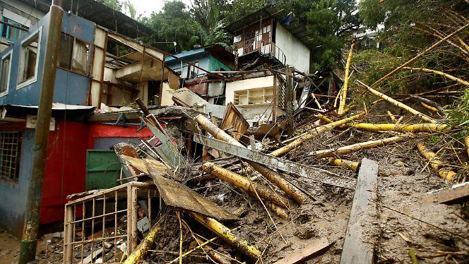 """Ausgangssperre in den USA: Tropensturm """"Nate"""" verwüstet Mittelamerika"""