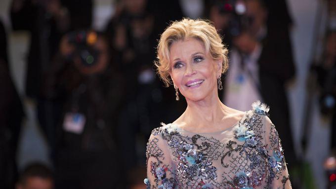 79 Jahre und immer noch umwerfend: Jane Fonda. Sie kämpft gegen die Alterdiskriminierung in Hollywood.