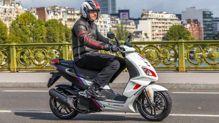 Nach der neuen WMTC-Norm begnügt sich der Speedfight 125 mit 2,1 Liter auf 100 Kilometern.