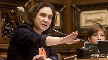 Ada Colau fürchtet um den sozialen Zusammenhalt in Katalonien.