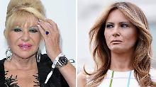 "Wer ist hier ""First Lady""?: Melania pfeift Trump-Ex Ivana zurück"