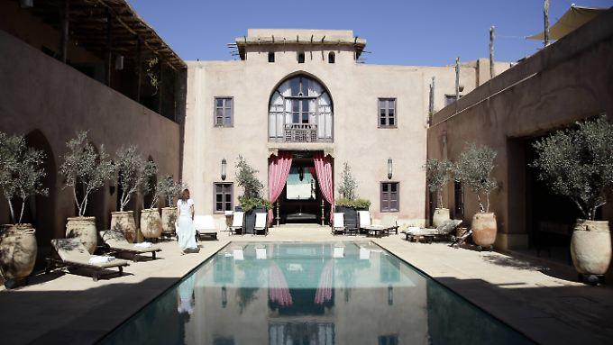 Die Hotels in Marrakesch sind ein Mix aus Moderne und Orient.
