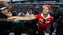 Sebastian Vettel frönt seiner großen Liebe - dem Rennsport.