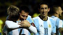 """Per """"Herzschlagfinale"""" zur WM: Argentinien schafft es doch nach Russland"""