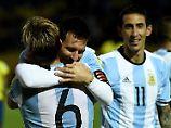 """""""Herzschlagfinale"""": Argentinien qualifiziert sich direkt für WM"""