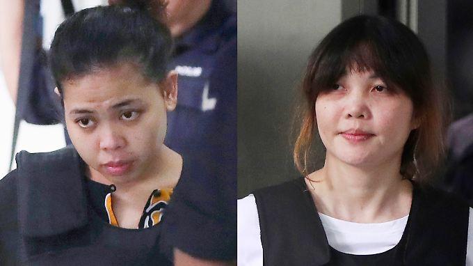 Der 25-jährigen Indonesierin Siti Aisyah und der 29-jährigen Vietnamesin Doan Thi Huong droht die Todesstrafe.