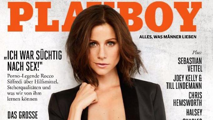 """Alarm für Cobra 11""? Auf jeden Fall Alarm: Katrin Heß im Playboy."