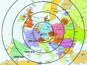 Das Signal zur Zeitumstellung erreicht Funkwecker in Nordnorwegen ebenso wie Uhren an der Algarve oder auf Mallorca.
