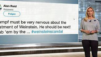 n-tv Netzreporterin: Internetnutzer prangern Heuchelei im #weinsteinscandal an