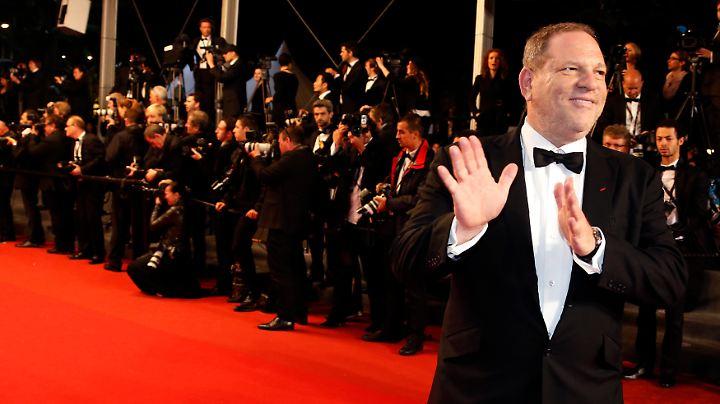 Produzent Harvey Weinstein war jahrelang einer der Männer an der Spitze Hollywoods.