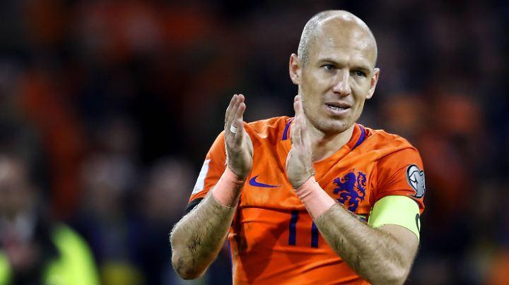 Das war's: Arjen Robben.
