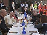 """""""Sozial gefährliche"""" Männer: Häftlinge fliehen bei Mittagessen mit Papst"""