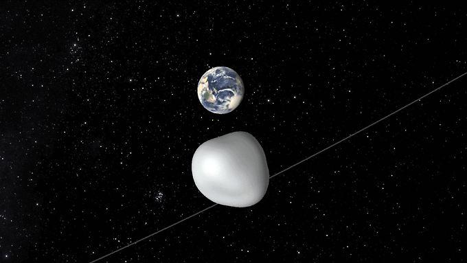 Asteroid 2012 TC4