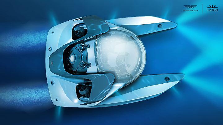 So könnte das U-Boot von Aston Martin und Triton aussehen.
