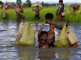 """Rohingya-Minderheit in Myanmar: Armeechef: Flucht ist Rückkehr in """"Heimat"""""""