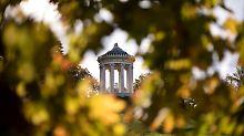 """Beste Aussichten fürs Wochenende: """"Überall kommt der goldene Oktober"""""""