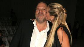 Wusste Klum, wen sie da küsst?