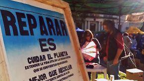 Lötkolben gegen Wegwerfwahn: Reparatur-Klub begeistert Argentinier