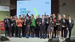 n-tv Ratgeber: KfW verleiht Gründer-Award 2017