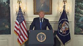 Atomabkommen nicht bestätigt: Trump kündigt Sanktionen gegen Iran an