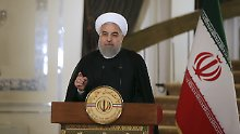 US-Haltung zum Atomabkommen: Ruhani sieht die USA isoliert