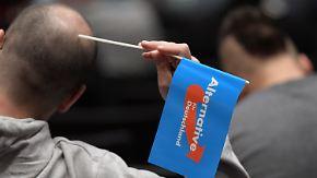Partei intern zerstritten: AfD steht vor Sprung in Niedersachsens Landtag